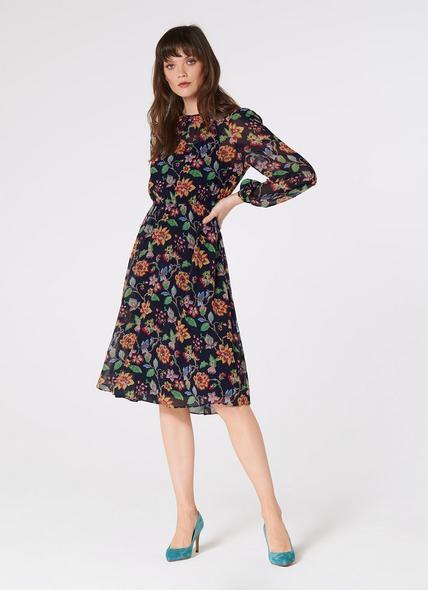 Evalina Midnight Dress