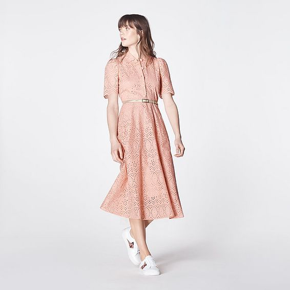 Grace Rose Cotton Dress