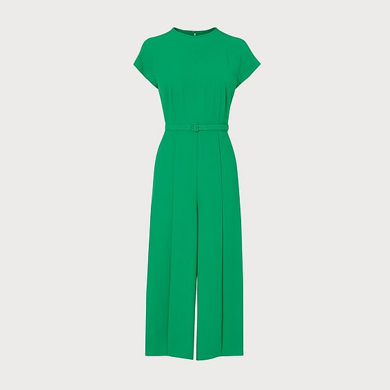 Manon Bright Green Mix Jumpsuit