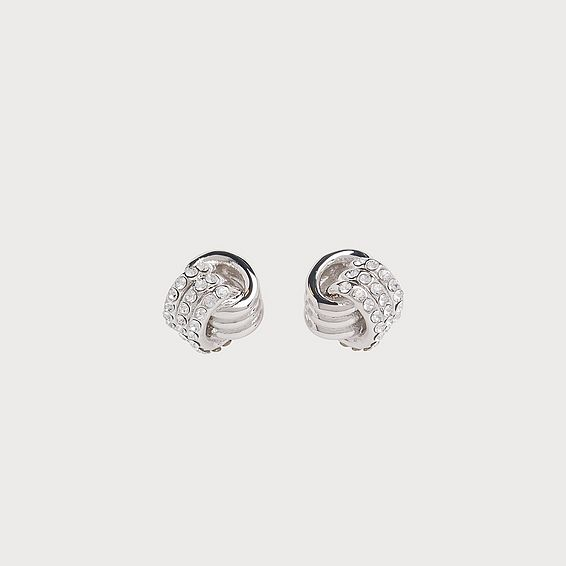 Havana Swarovski Crystal Knot Earrings