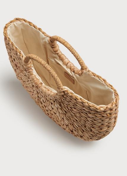 Luella Rounded Straw Basket