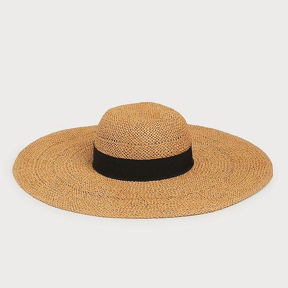 Saffron Straw Floppy Sun Hat