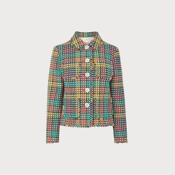Bonnie Multi Tweed Jacket