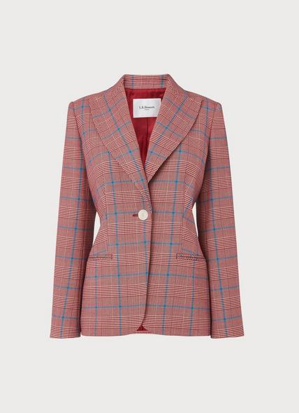 Eunice Prince of Wales Check Jacket