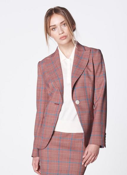 Eunice Prince of Wales Check Jacket