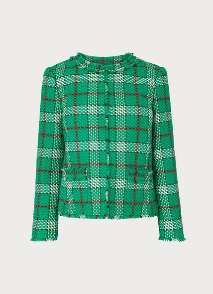 Lowri Check Tweed Jacket