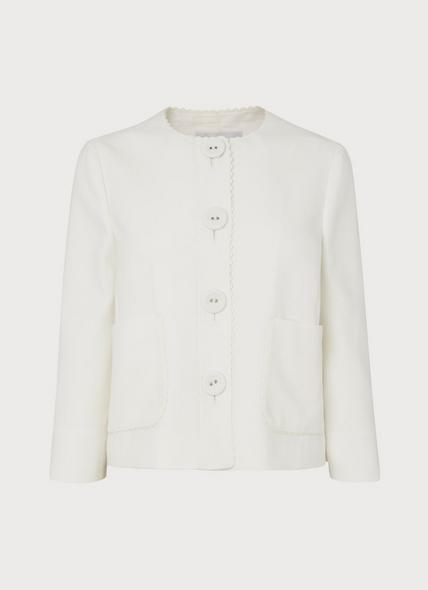 Millie Cream Jacket