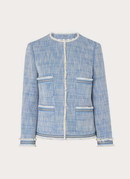 Sidney Blue Tweed Jacket