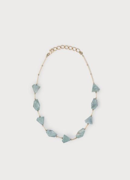 Valencia Green Resin Necklace