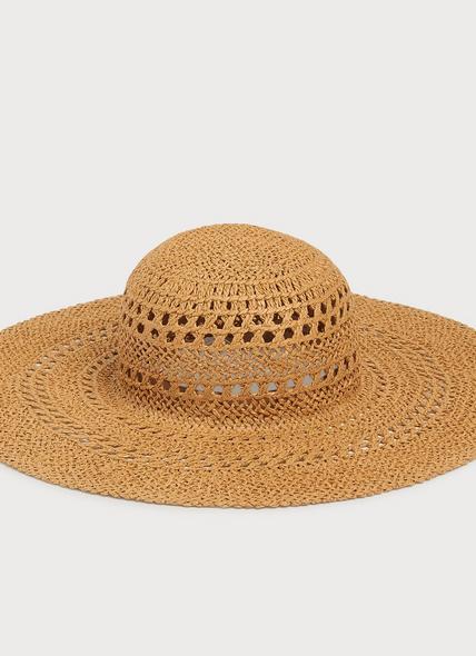 Tulip Straw Floppy Sun Hat