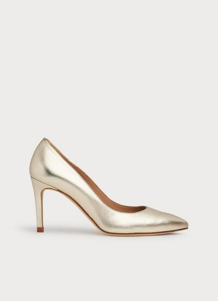 Floret Gold Soft Leather Courts