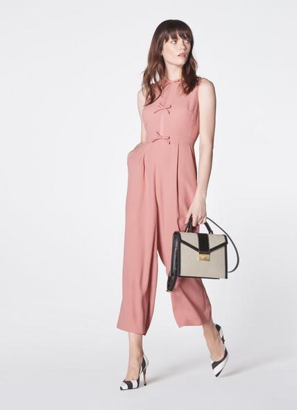 Monica Multi Leather Shoulder Bag