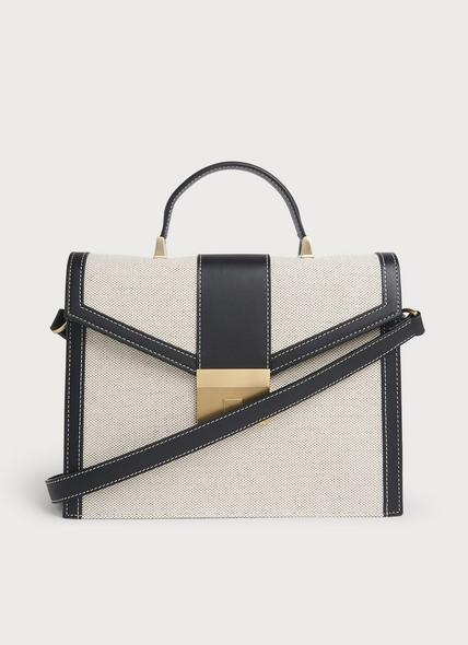 Monica Multi Leather Shoulder Bag