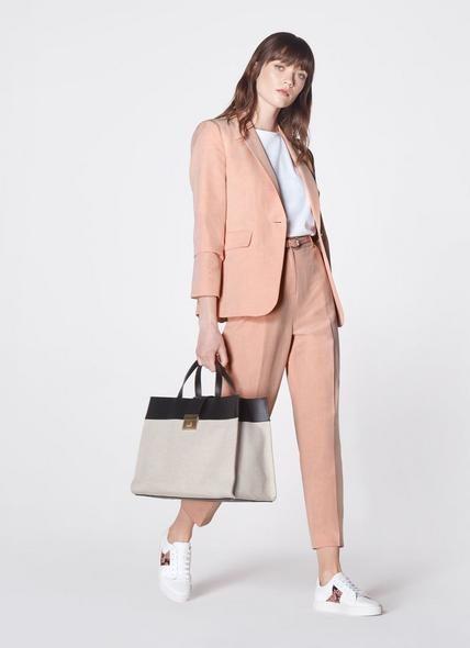 Lorelei Multi Leather Tote Bag