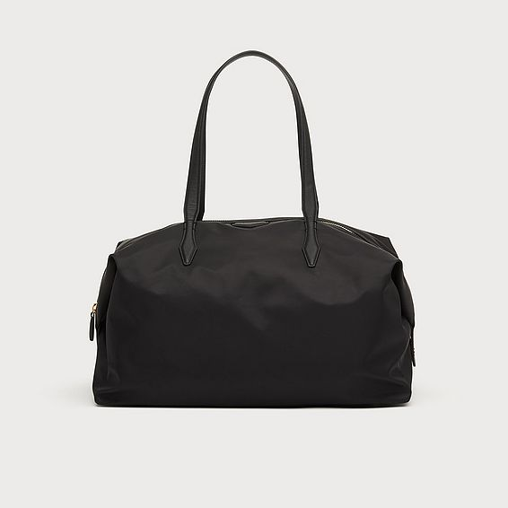 Marley Black Nylon Weekend Bag