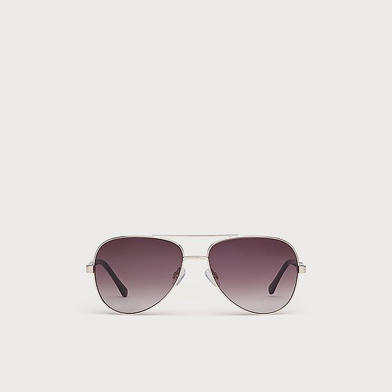 Isla Gold Frame Aviator Sunglasses