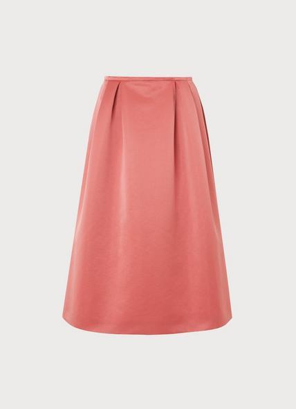 Biarritz Pink Satin Full Skirt
