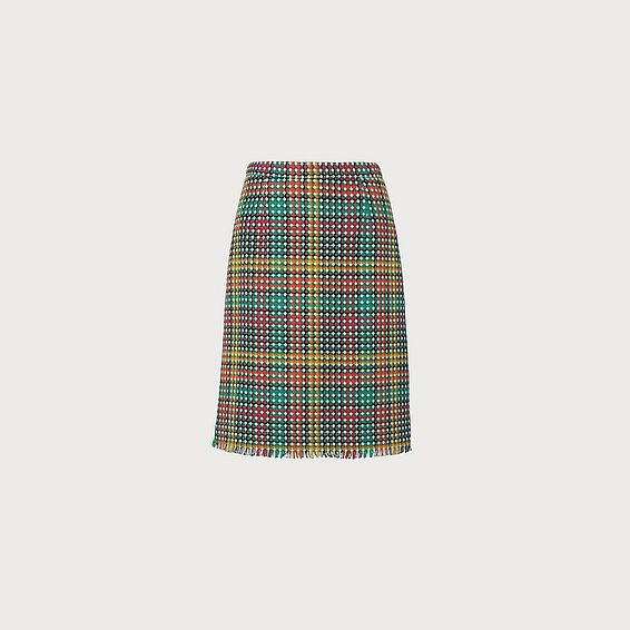 Bonnie Tweed Blend Skirt