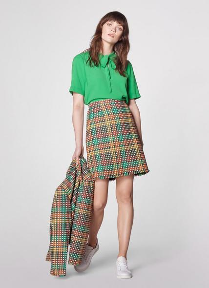 Bonnie Tweed Blend Skirt