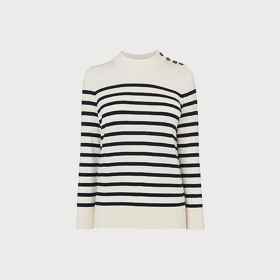 Elodie Breton Stripe Sweater