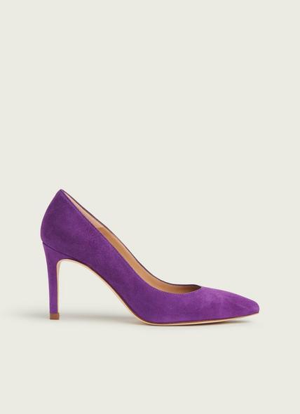 Floret Purple Suede Courts