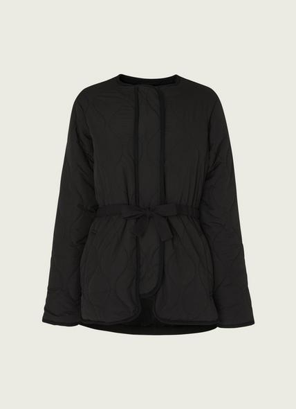 Rowan Black Quilted Jacket