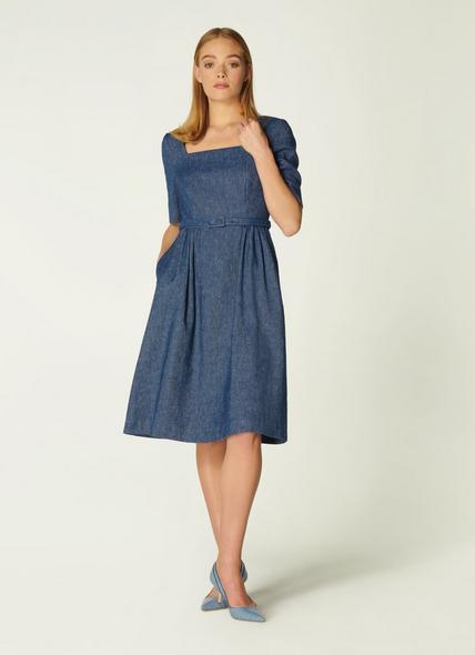 Wilson Denim Linen Dress