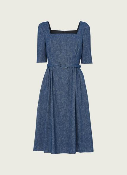 Wilson Denim Linen Dress