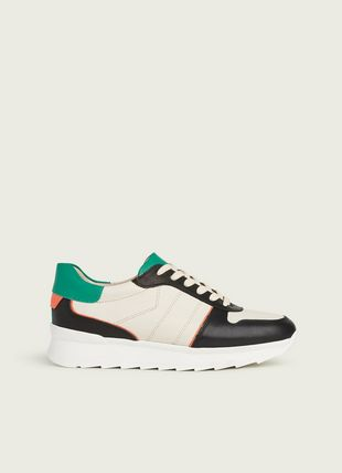 Tatiana Multi Leather Trainers