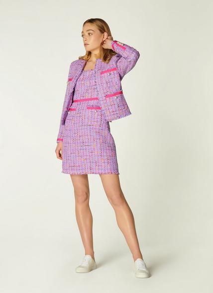 Albers Lilac Tweed Jacket