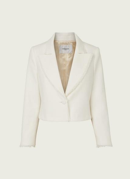Ellen Cream Tweed Jacket