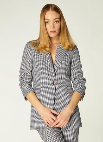 Miller Monochrome Gingham Jacket