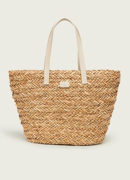 Laura Natural Raffia Large Bag