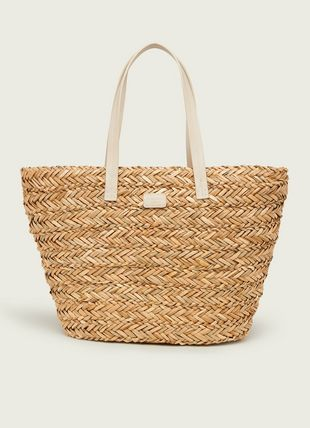 Laura Natural Raffia Large Bag