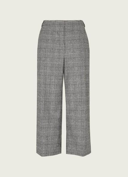Darling Prince of Wales Check Cropped Trousers