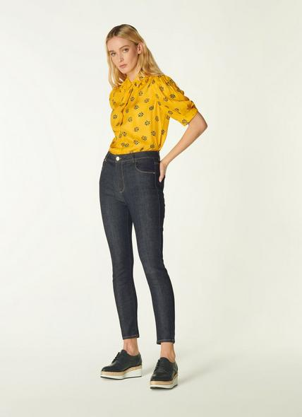 Gracie Blue Organic Cotton Skinny Jeans