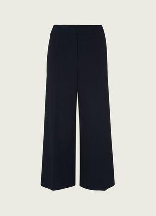 Luciana Navy Wide Leg Trousers