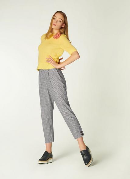Miller Monochrome Gingham Trousers