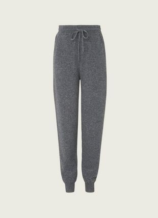 Smith Grey Cashmere Trousers