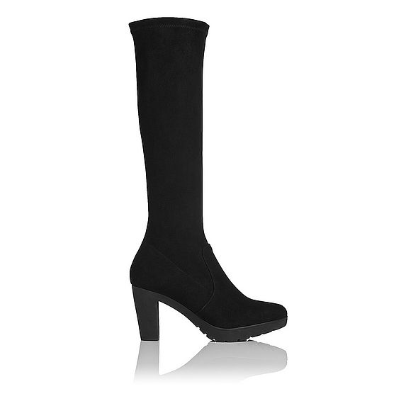Minka Suede Knee High Boot