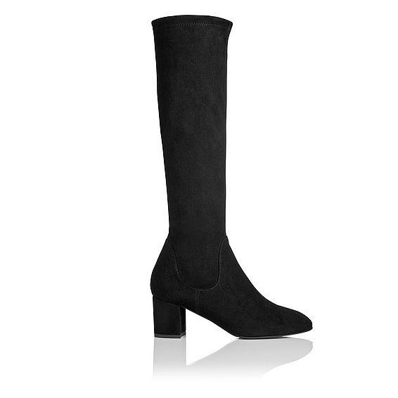 Keri Black Suede Boot