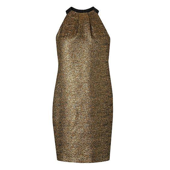 Thelda Metallic Dress