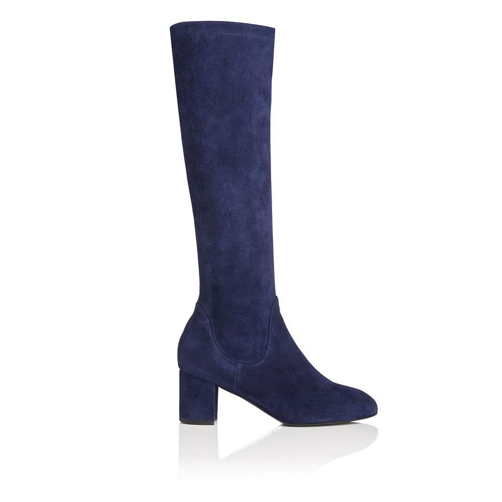 L.K. Bennett Suede Knee-High Boots