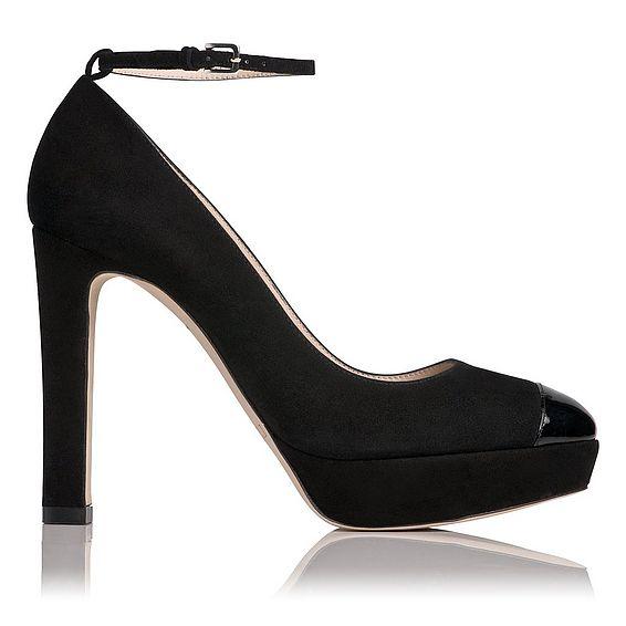 Sally Platform Ankle Strap Heel