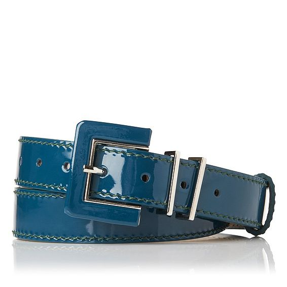 Gena Patent Leather Belt