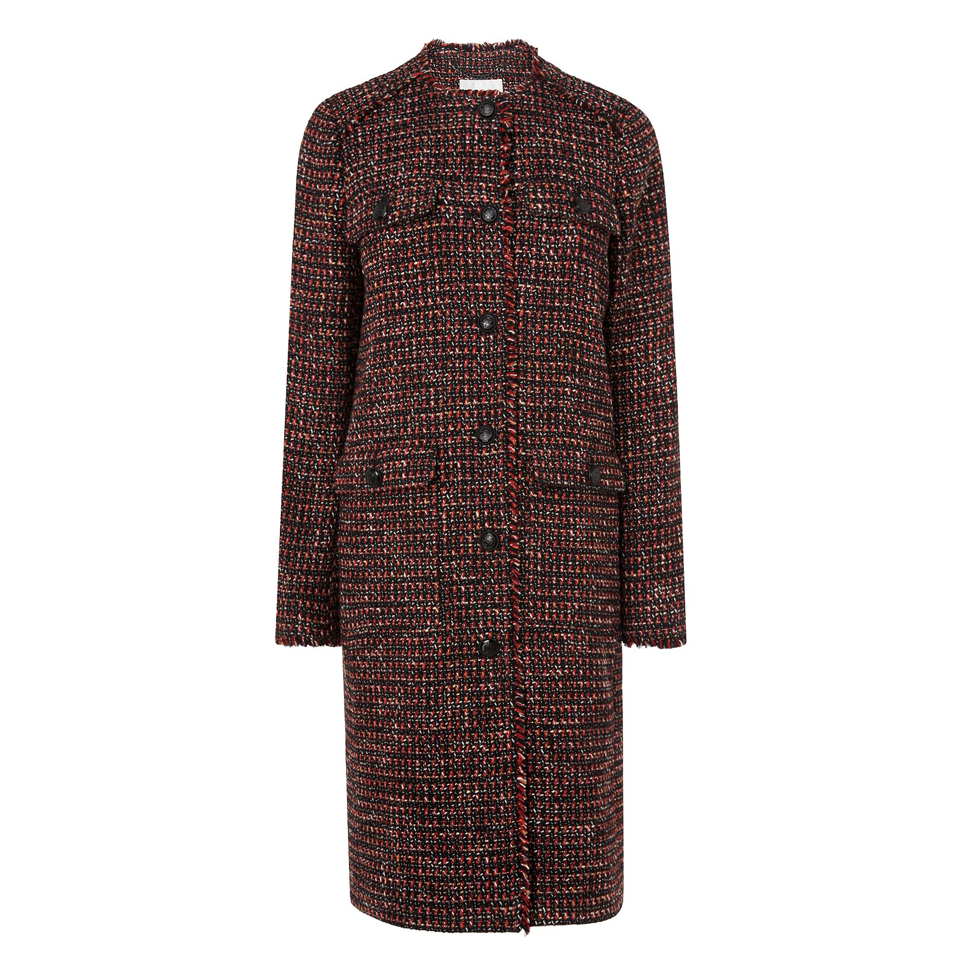 L.K.Bennett Florence Check Coat