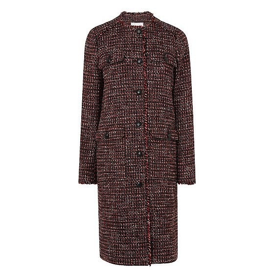 Florence Check Coat