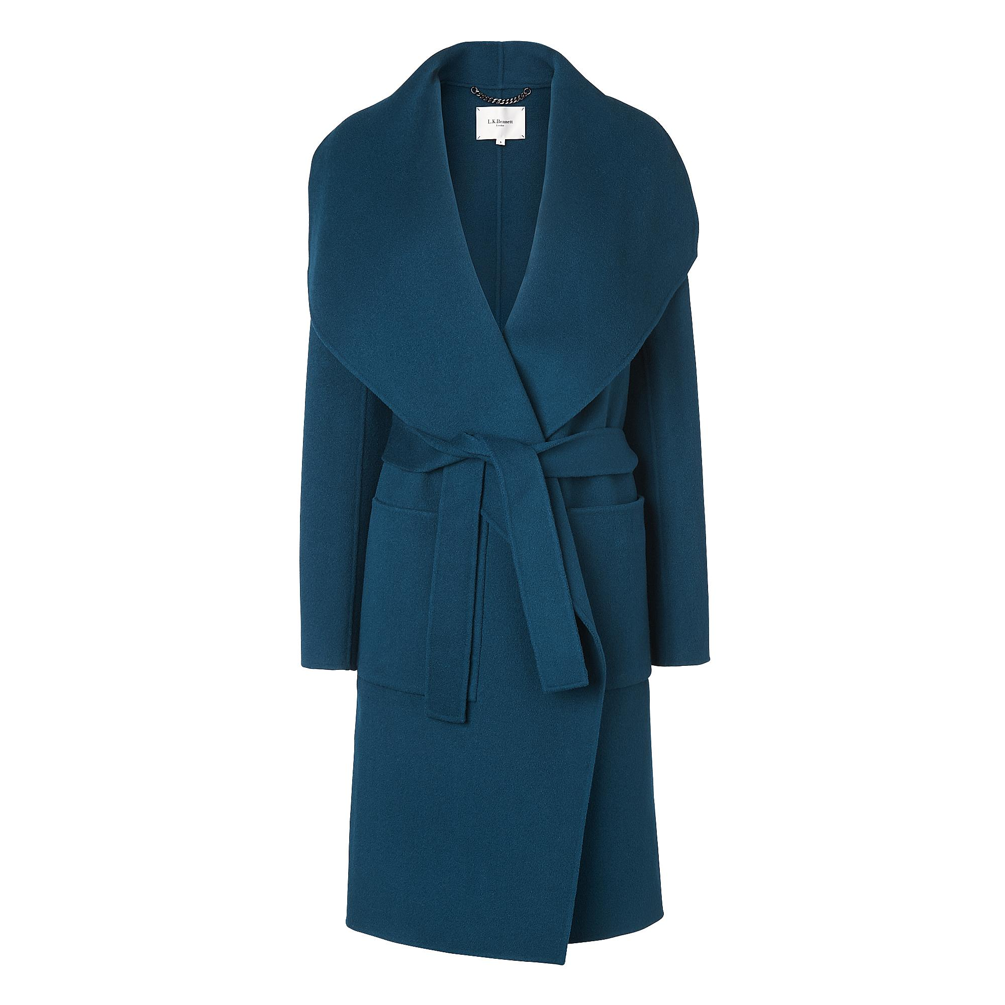 L.K.Bennett Fran Wool Coat