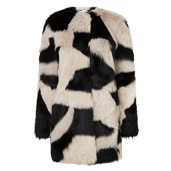 Gia Patchwork Shearling