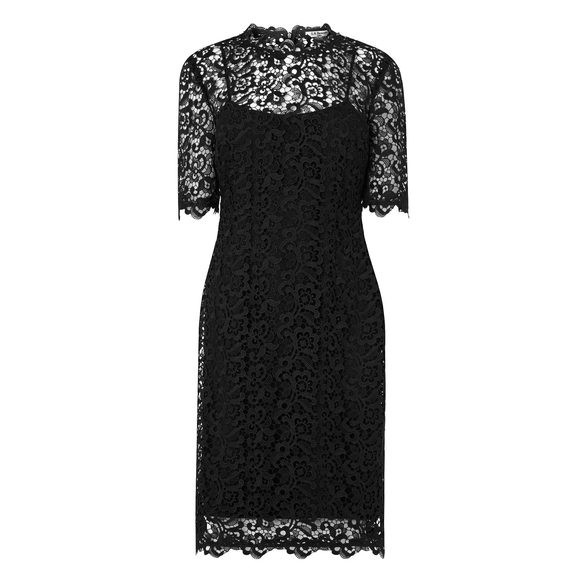 L.K.Bennett Aisha Lace Dress